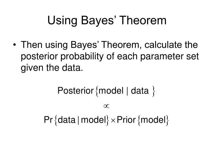 Using Bayes' Theorem