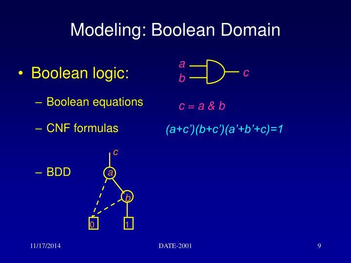 Boolean logic: