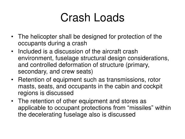 Crash Loads