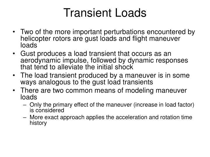 Transient Loads