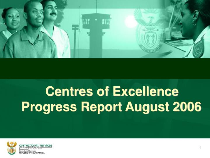Centres of Excellence