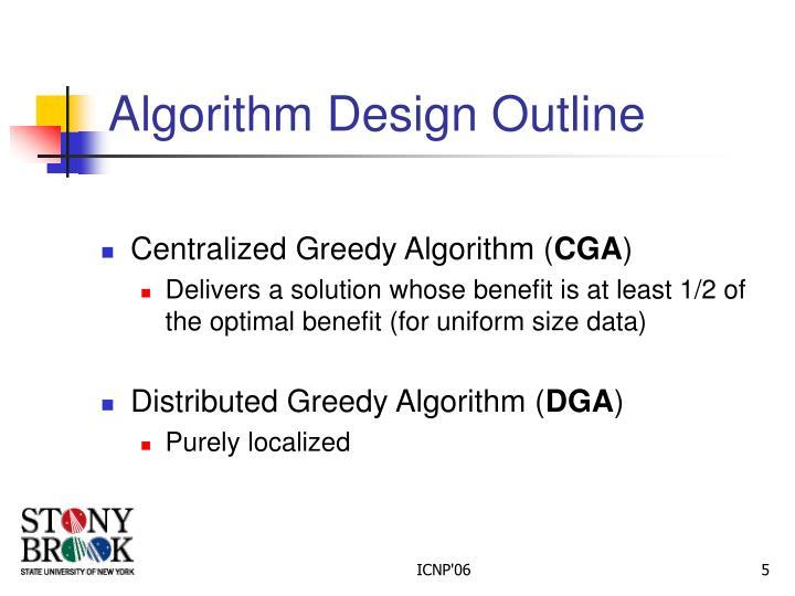 Algorithm Design Outline