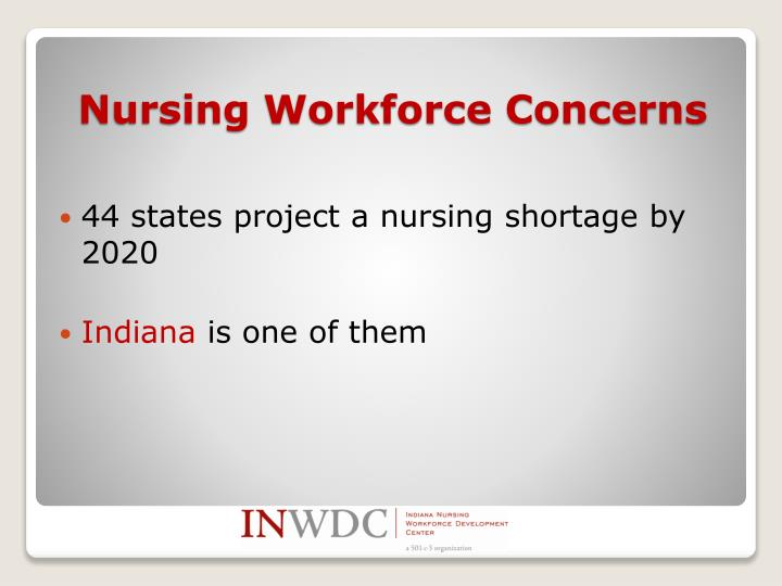 44 states project a nursing shortage by 2020