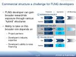 commercial structure a challenge for flng developers