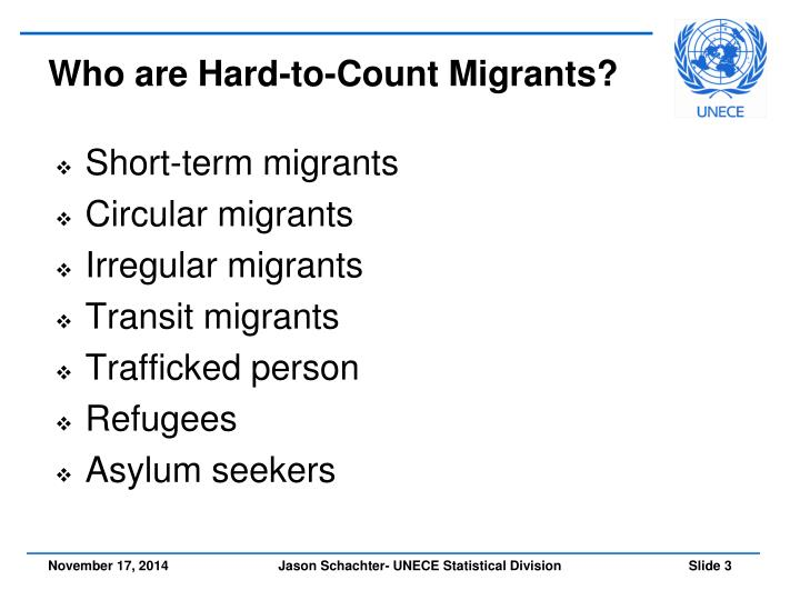 Who are hard to count migrants