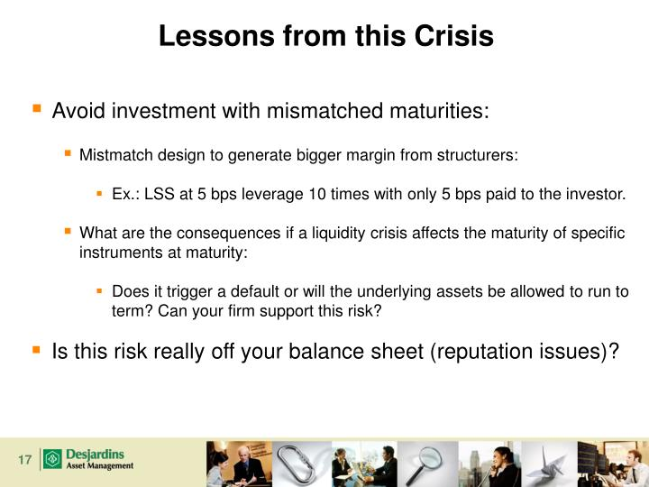 Lessons from this Crisis
