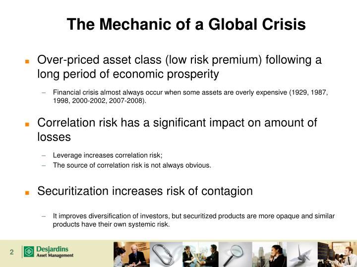 The Mechanic of a Global Crisis