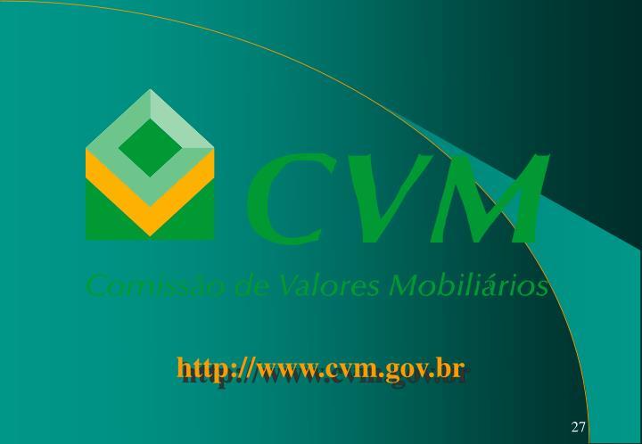 http://www.cvm.gov.br