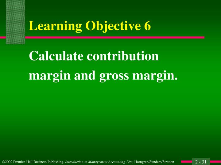 Calculate contribution