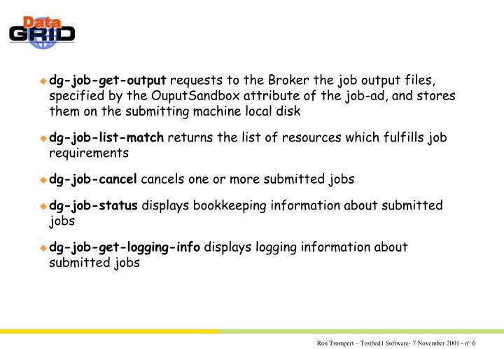 dg-job-get-output