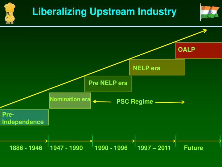 Liberalizing Upstream Industry