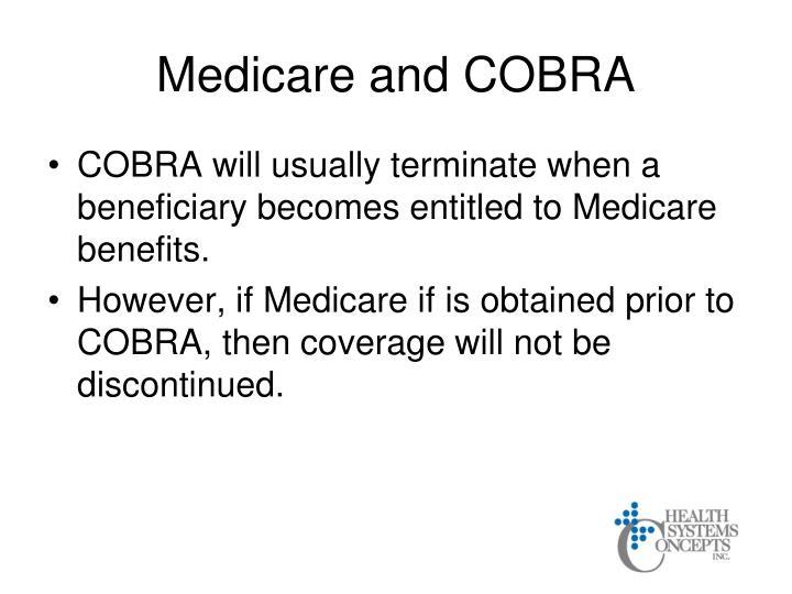 Medicare and COBRA