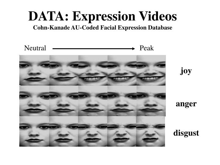 DATA: Expression Videos