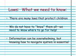 laws what we need to know