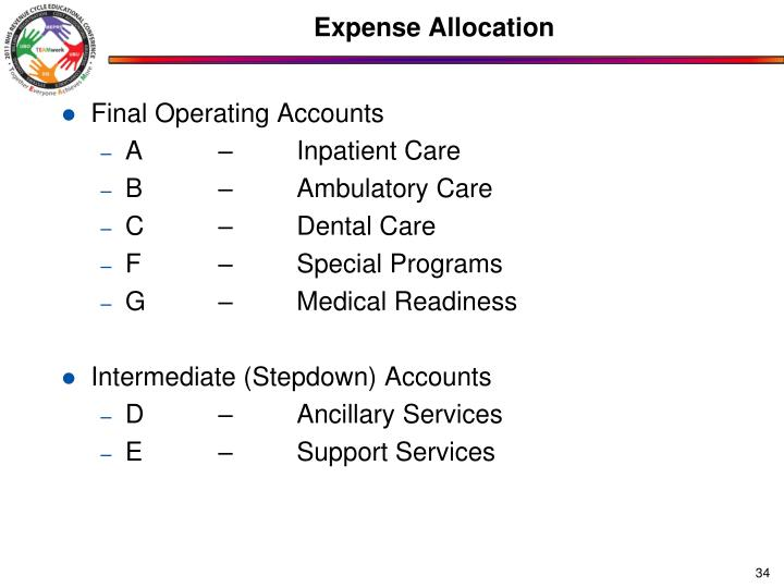 Expense Allocation