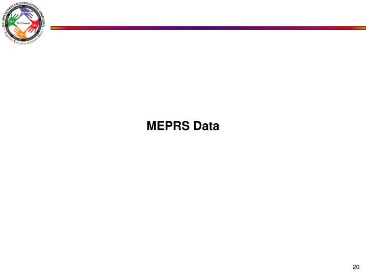 MEPRS Data