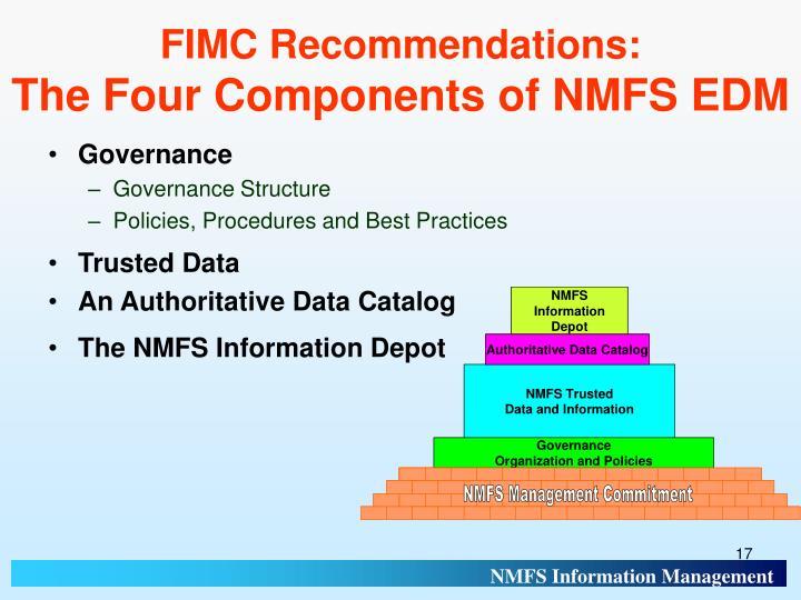 FIMC Recommendations: