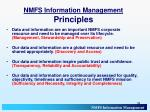 nmfs information management principles