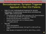 benzodiazepines symptom triggered approach in non icu patients1