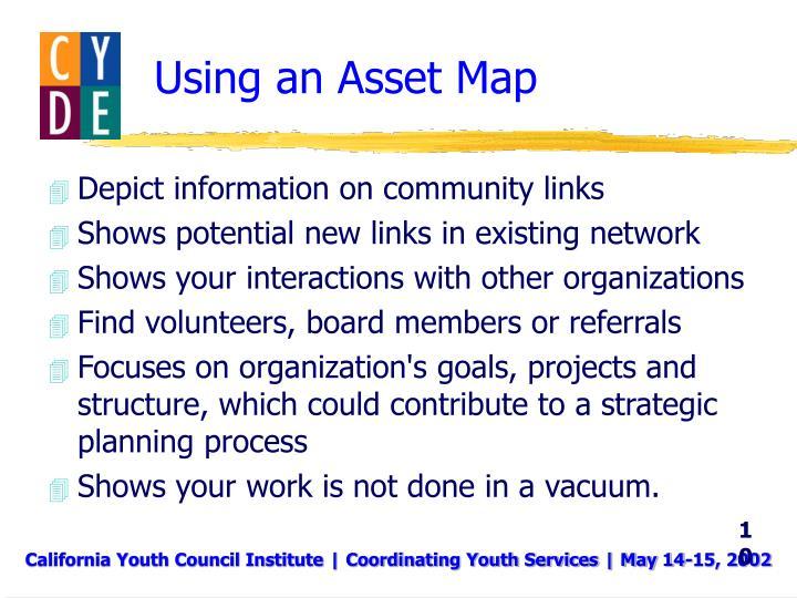Using an Asset Map