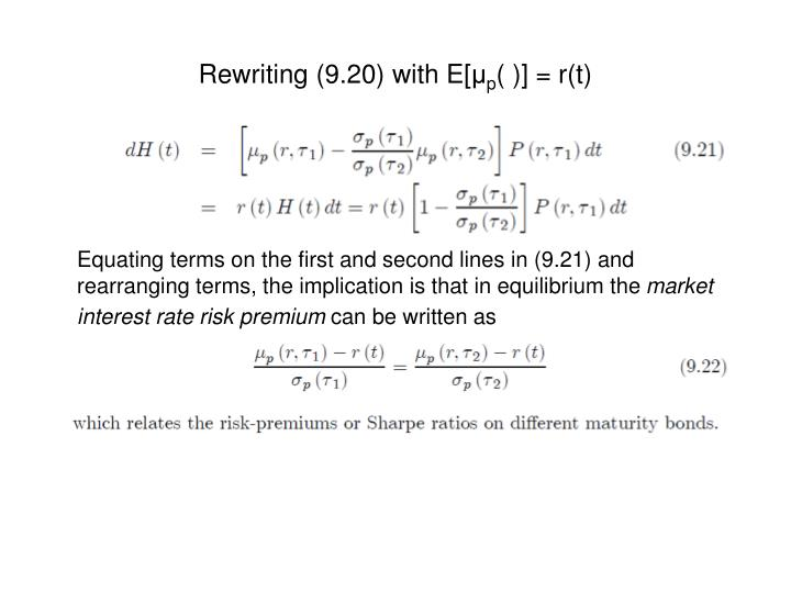 Rewriting (9.20) with E[