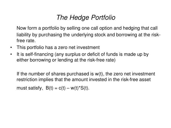 The Hedge Portfolio