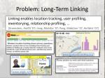 problem long term linking1