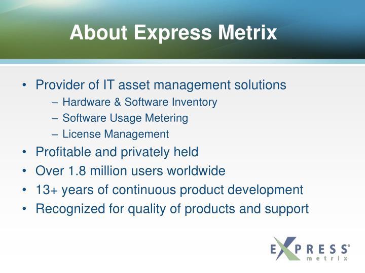 About Express Metrix