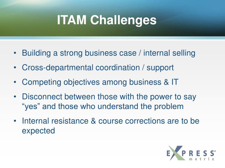 ITAM Challenges
