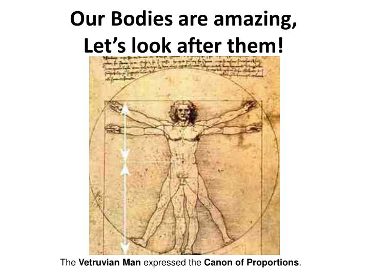 Our Bodies are amazing,