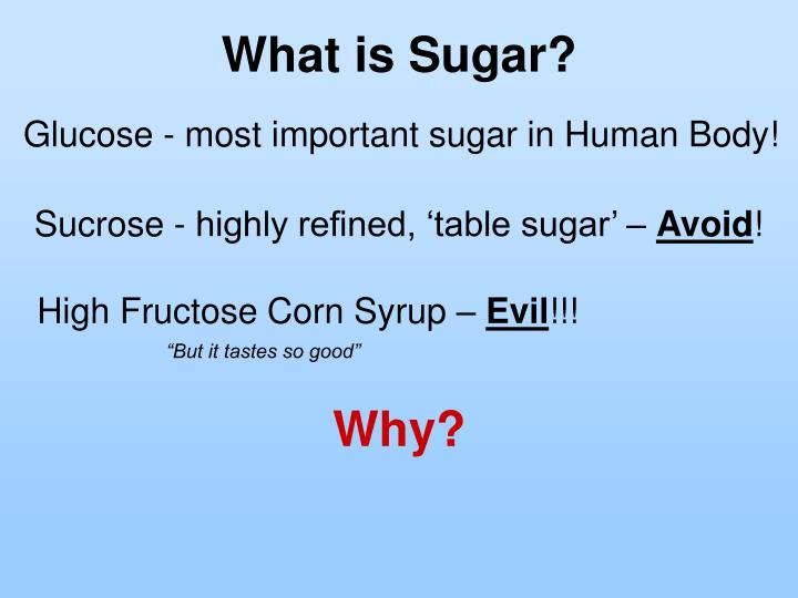 What is Sugar?