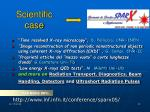 scientific case