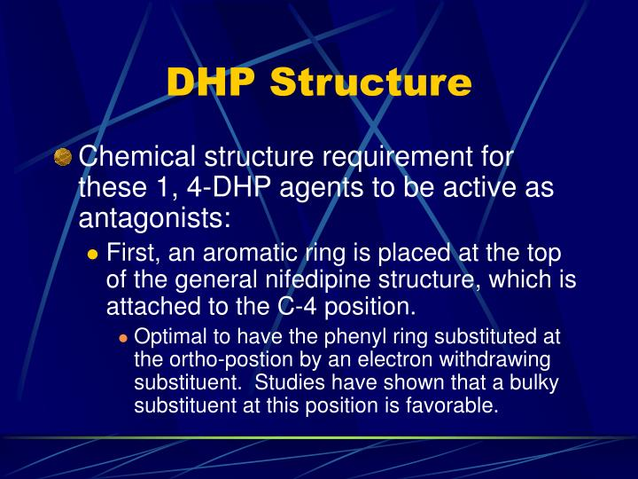 DHP Structure