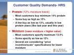 customer quality demands hrs1