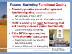 future marketing functional quality