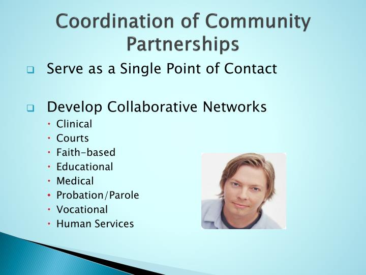 Coordination of Community Partnerships
