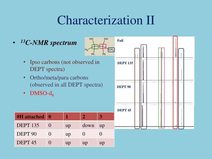 Characterization II