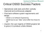 critical ossd success factors1
