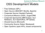oss development models
