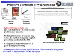predictive biomarkers of wound healing