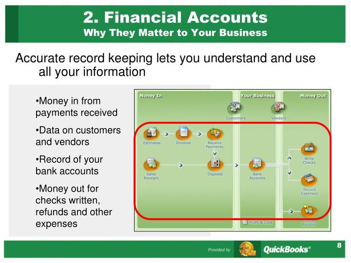 2. Financial Accounts