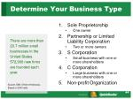 determine your business type