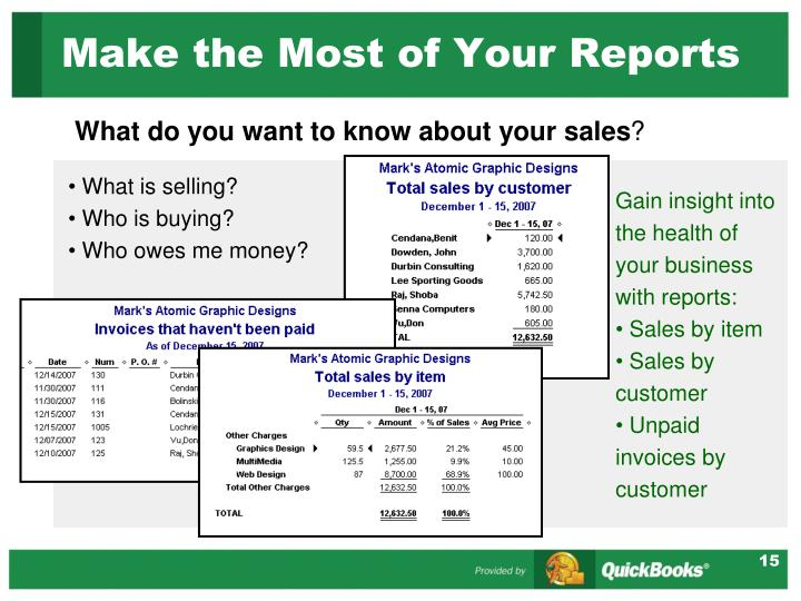 Make the Most of Your Reports