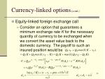 currency linked options cont2