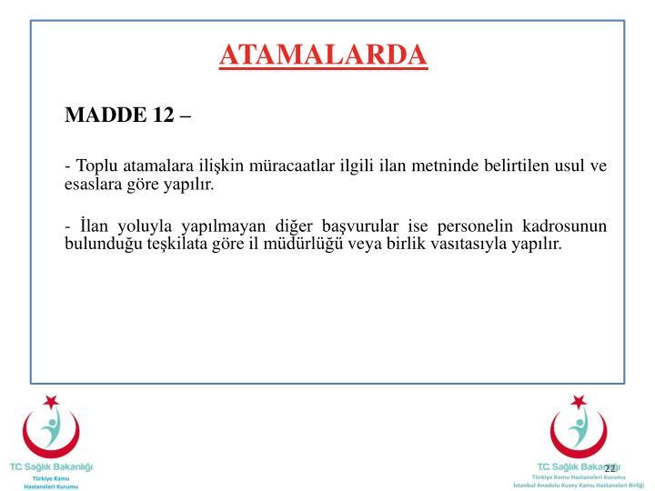 ATAMALARDA