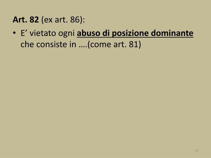 Art. 82