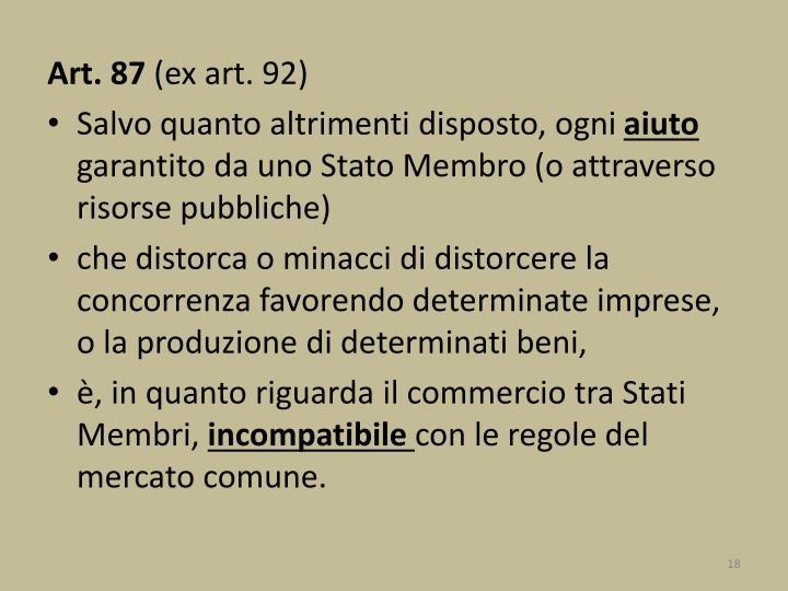 Art. 87