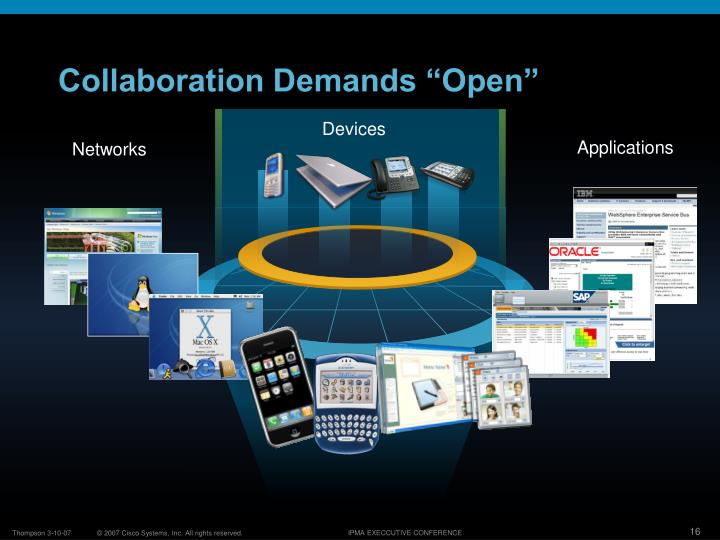 "Collaboration Demands ""Open"""