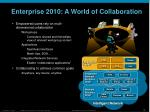 enterprise 2010 a world of collaboration