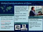 unified communications at cisco